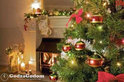 Украшения дома и новогодней елки к Новому 2020 году
