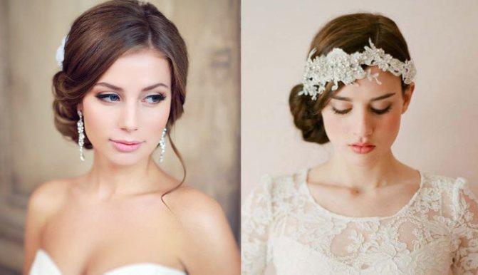 Украшения на свадебные волосы