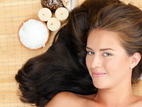 укрепление волос солью