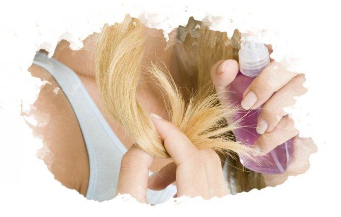 Укрепляющий спрей для волос