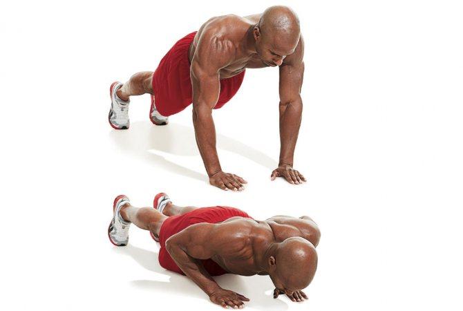 Упражнение, чтобы накачать трицепс