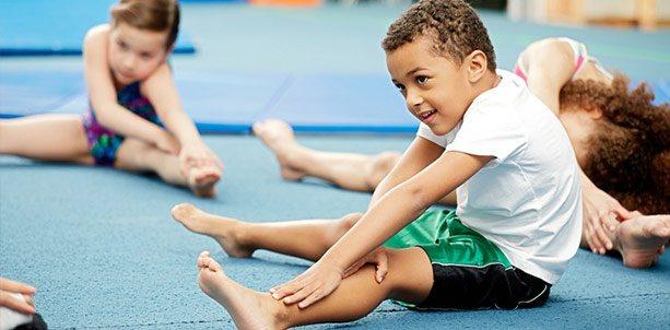 Упражнения для гимнастики