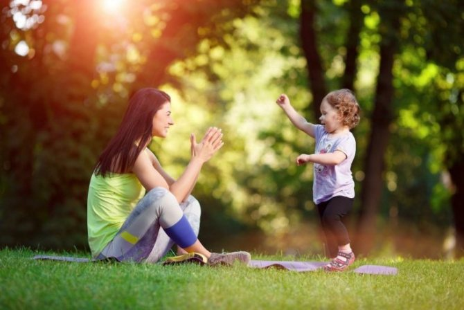 Упражнения для хорошего физического развития детей 2-3 лет