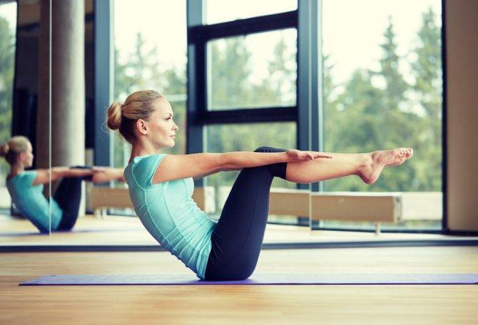 упражнения для красивых колен фото