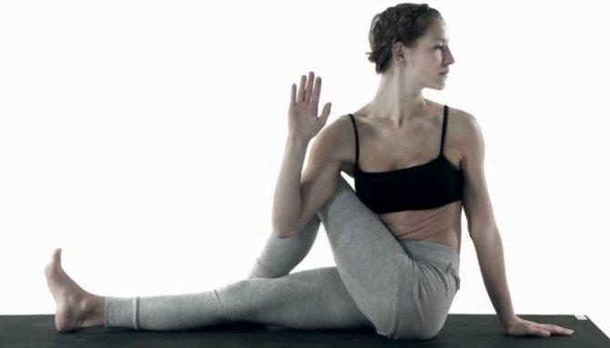 Упражнения йоги для тех, кто хочет подтянуть кожу после похудения