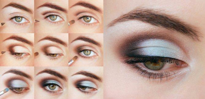 Уроки макияжа глаз для начинающих на каждый день: руководство с фото