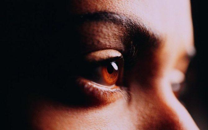 Уставшие глаза