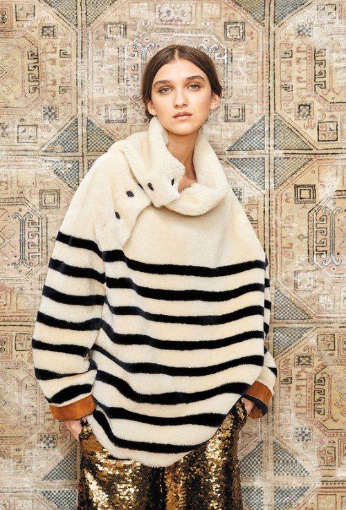 утепленный женский свитер