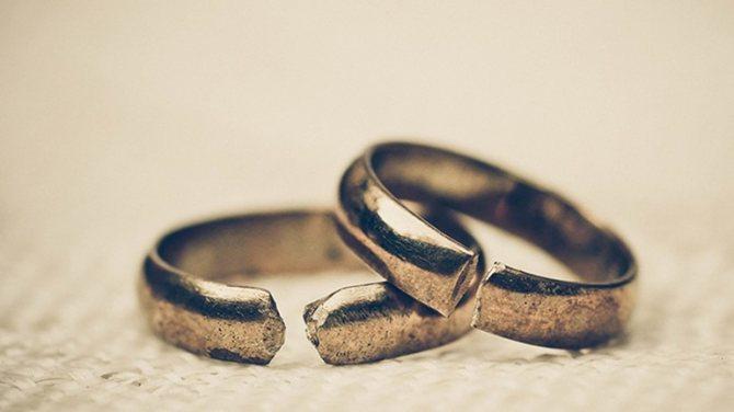 Увидеть во сне треснутое кольцо