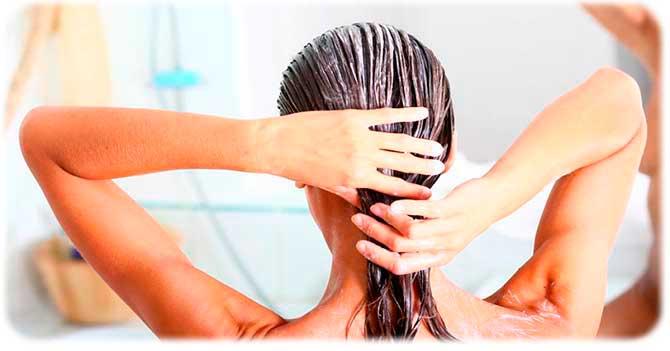 Увлажнение секущихся волос