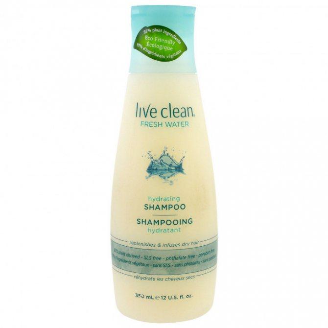 Увлажняющий шампунь Live Clean Hydrating Shampoo