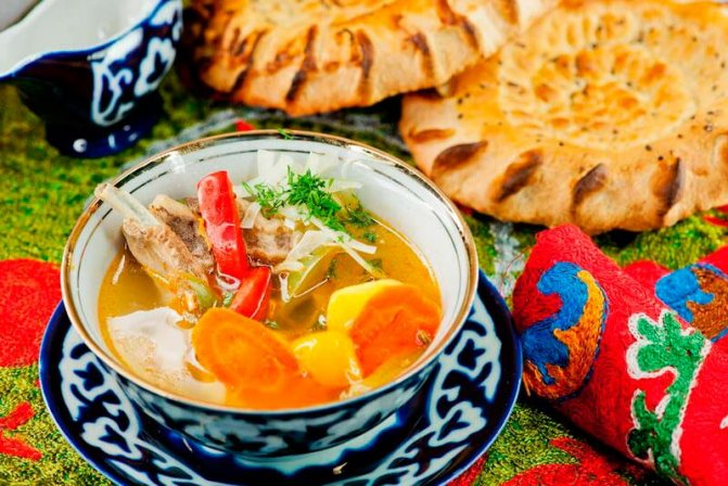 Узбекская шурпа: виды блюда и рецепт приготовления