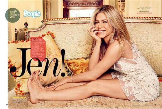 В 2020 Дженнифер Энистон вновь признали одной из самых красивых женщин планеты
