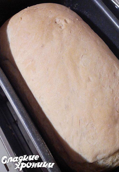 В хлебопечке