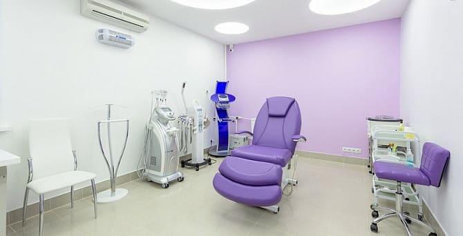 В косметологической клинике
