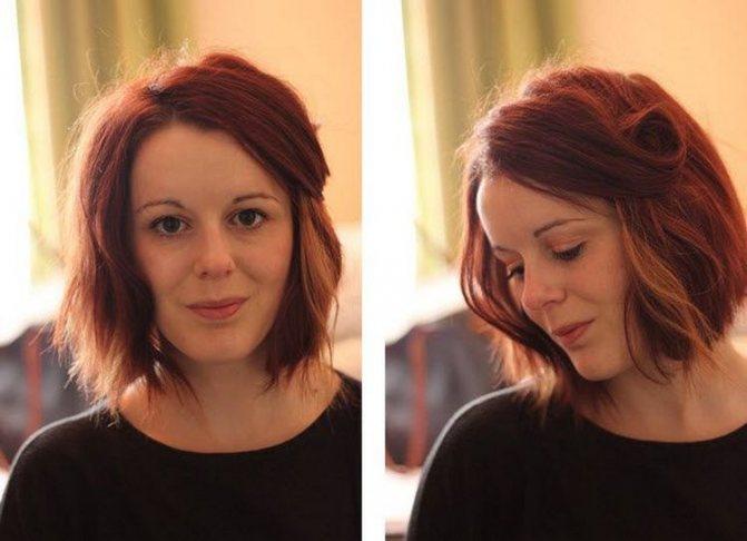 В результате получился красивые объем и волнистые волосы.