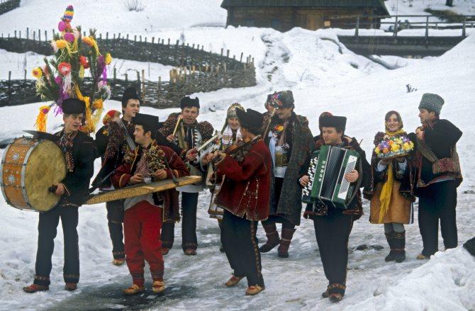 В Украине празднуют старый Новый год или Маланку