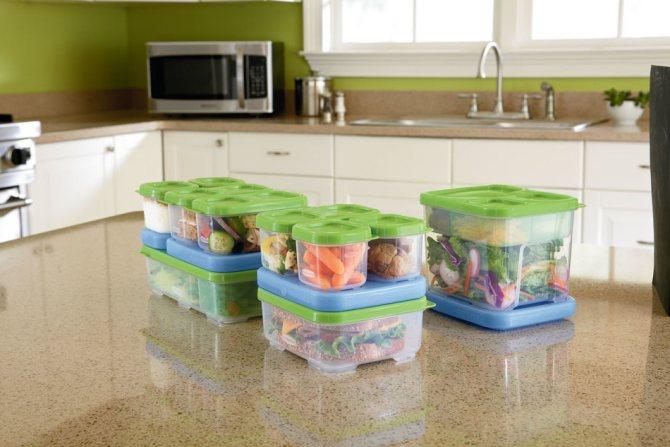 Вакуумная посуда для хранения еды