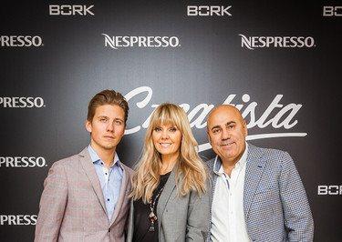 Валерия, Османн и Гаузер на вечере Nespresso в Большом театре