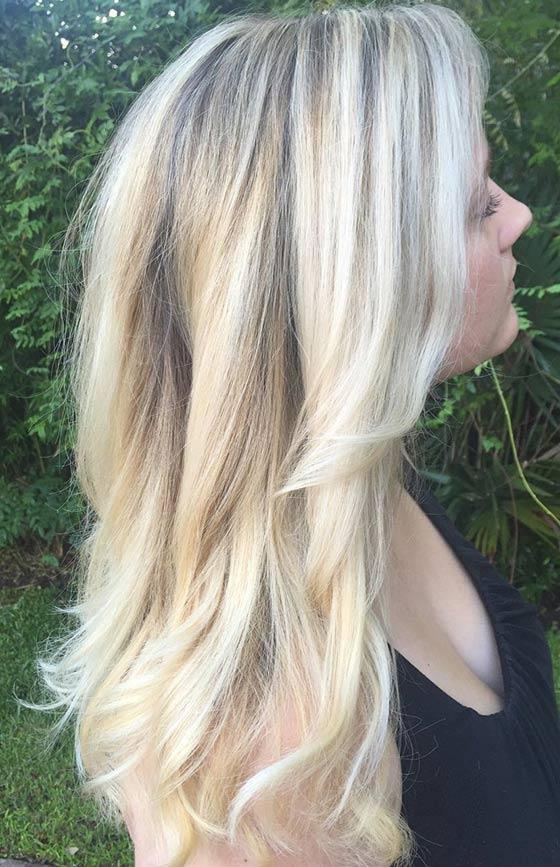 Ванильный блонд