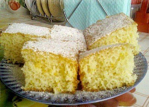 Ванильный пирог