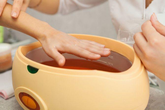 Ванночка – эффективное народное средство для заживления рук