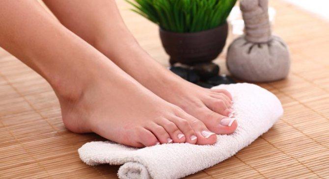 Ванночки для ног с перекисью водорода в домашних условиях