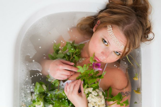 ванны с травами