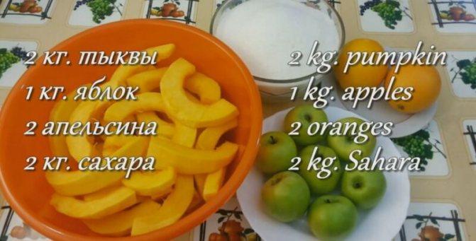 Варенье из дыни и тыквы на зиму