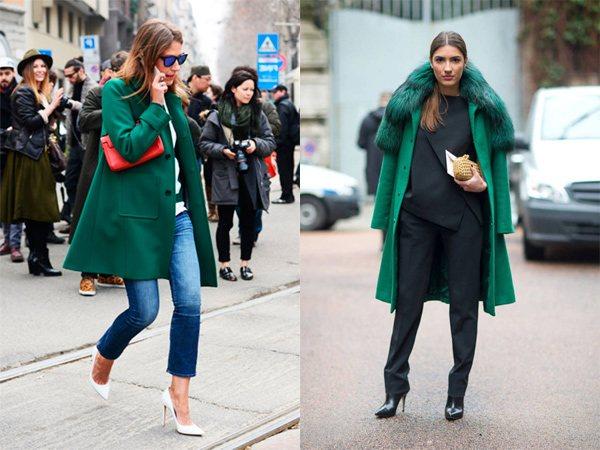 варианты с пальто