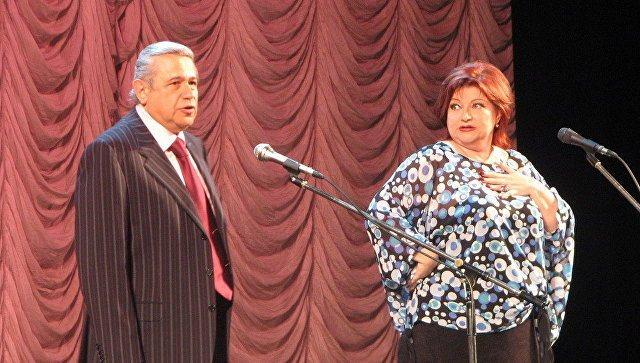 Вечер юмора Евгения Петросяна и Елены Степаненко в Московском Театре Эстрады. Архивное фото