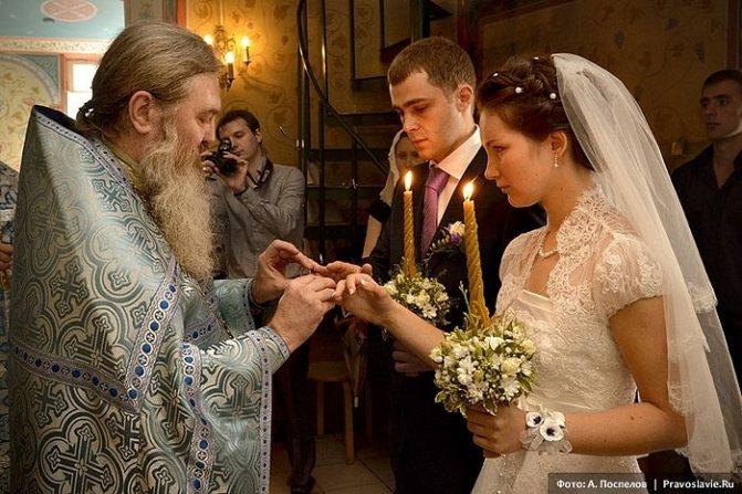 Венчание. Фото: А. Поспелов / Православие.Ru