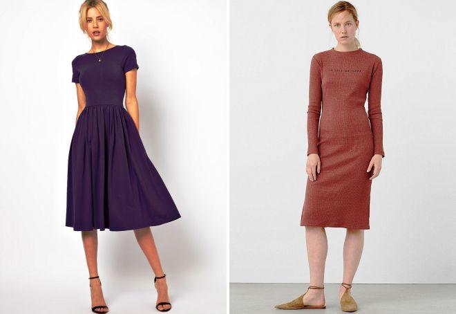 весенние платья на каждый день