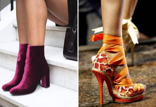 весенняя обувь 2020 года