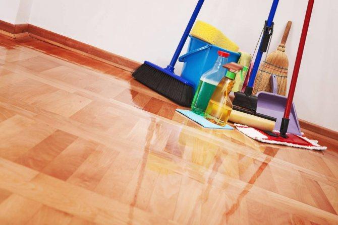 Весенняя уборка в доме