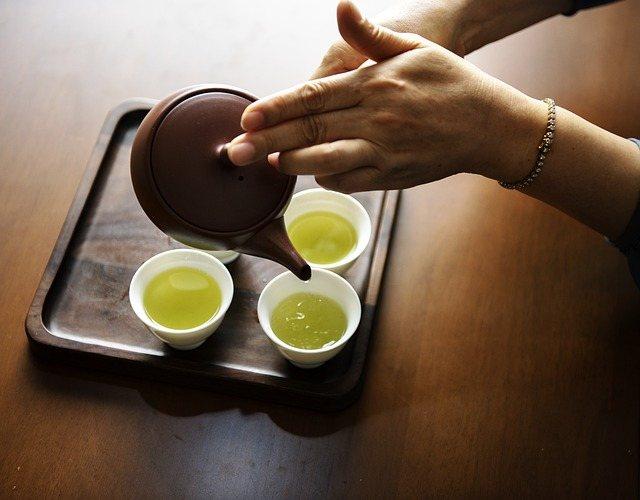 Виды разгрузки на зелёном чае