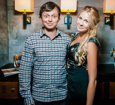 Виктор Комаров и его жена