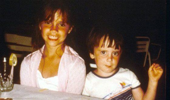 Виктория Бекхэм в детстве