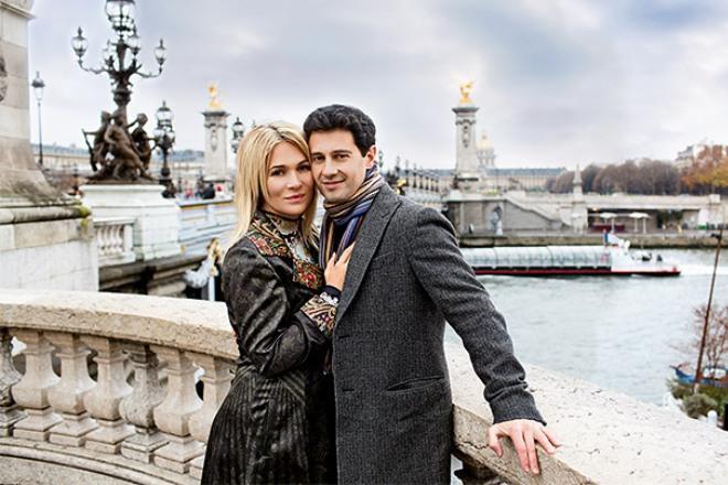 Виктория Макарская с мужем