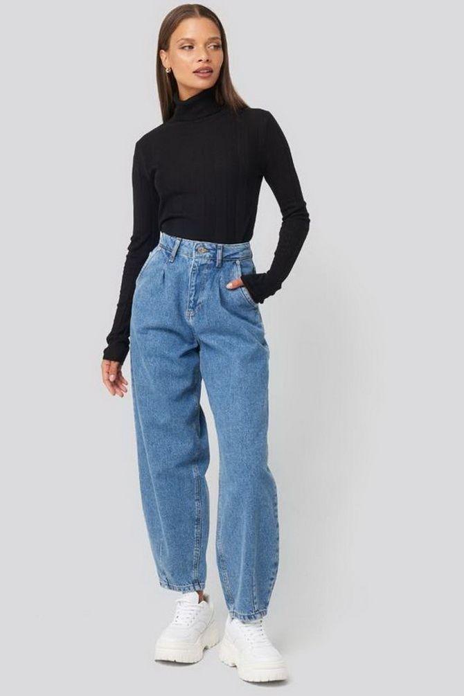 винтажные джинсы 2020