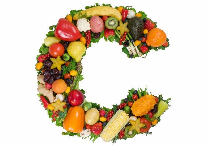 витамин с из овощей и фруктов