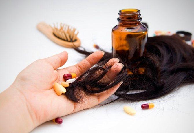 Витамины для секущихся волос