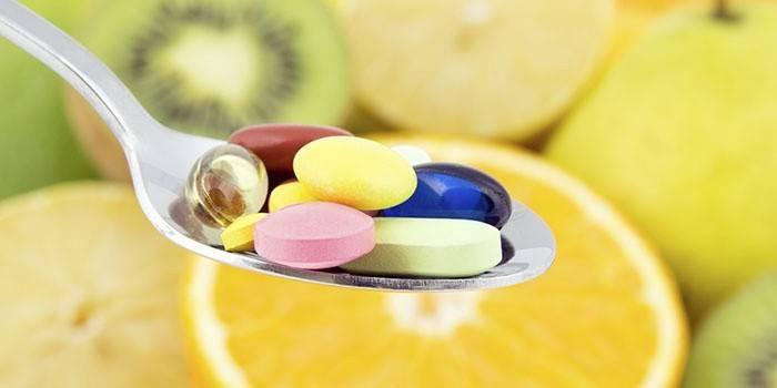 Витамины для усиления роста бровей