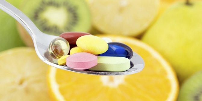 Витамины в таблетках от зуда головы