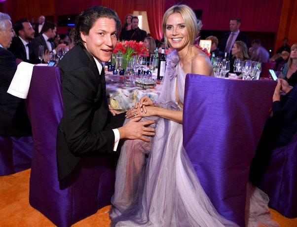 Вито Шнабель и Хайди Клум выглядят абсолютно счастливыми