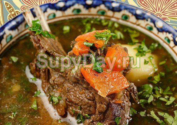 Вкуснейшая шурпа – суп наваристый, ароматный, готовится легко и быстро