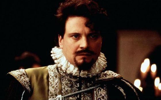 «Влюбленный Шекспир»: Колин Ферт в роли лорда Уэссекса