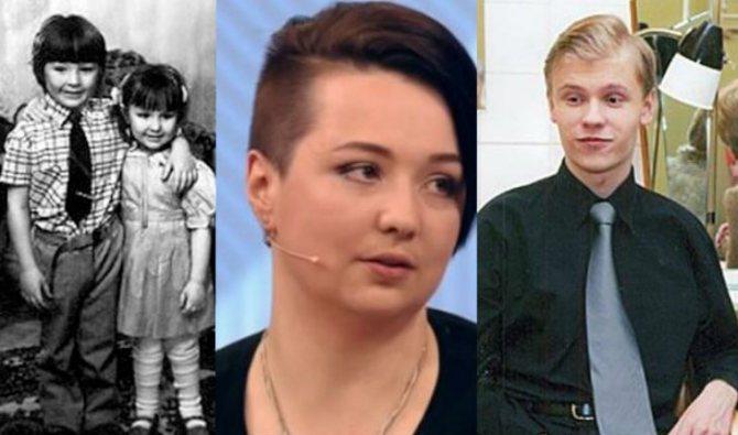 Внуки Людмилы Гурченко: Елена и Марк