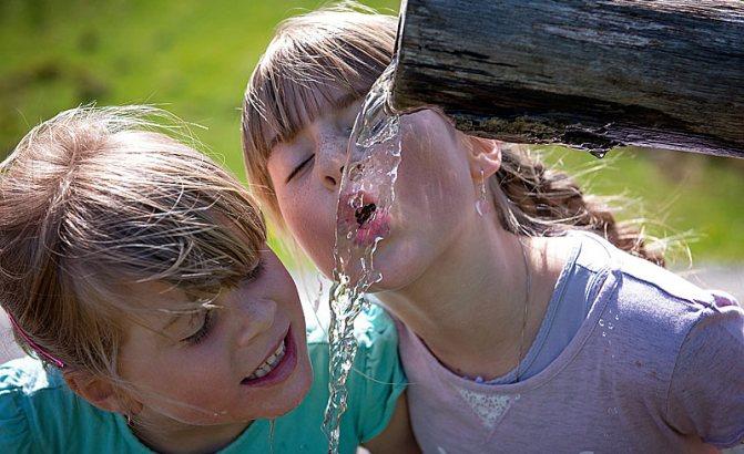 Вода полезна не только для похудения