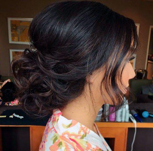 Волнистый Pin-Up для средних волос